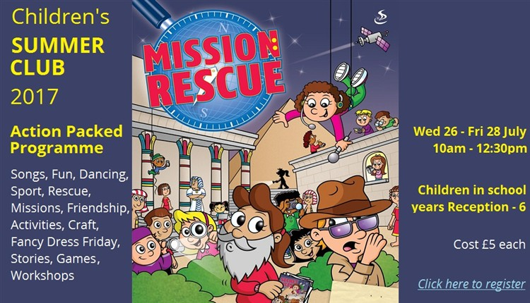 Mission Rescue web banner